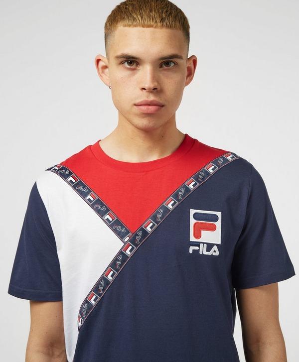 Fila Samuel Tape Short Sleeve T-Shirt