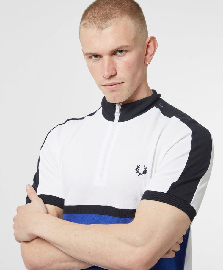 Fred Perry Cycling Collar Short Sleeve Polo Shirt