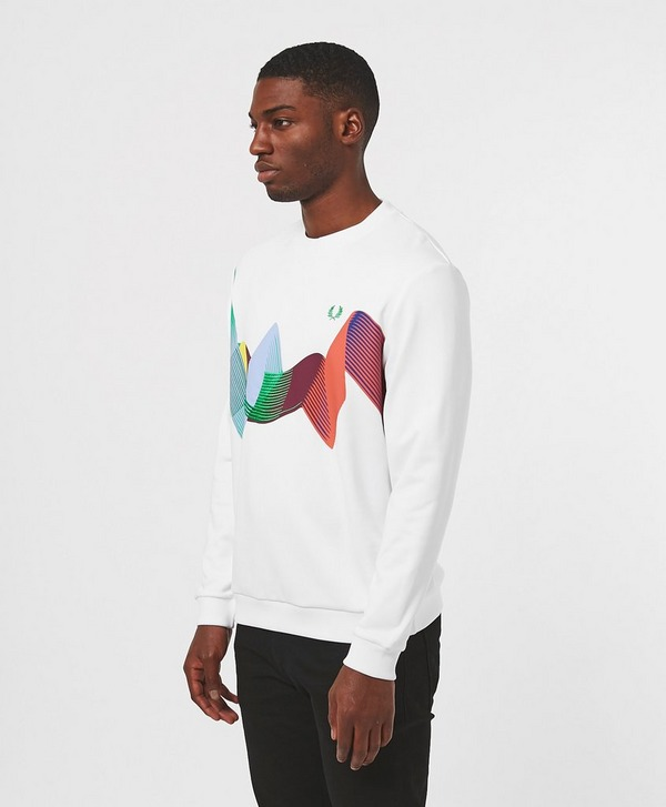 Fred Perry Abstract Sweatshirt
