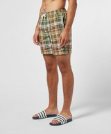 Fred Perry Check Swim Shorts
