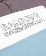 Barbour International Bold Block Short Sleeve Polo Shirt