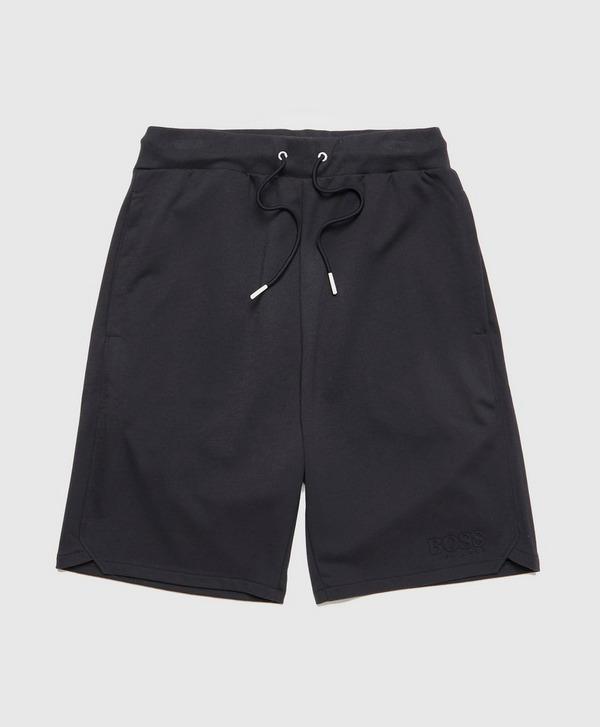 BOSS Heritage Embossed Logo Fleece Shorts