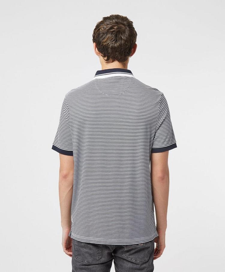 Michael Kors Feeder Stripe Short Sleeve Polo Shirt