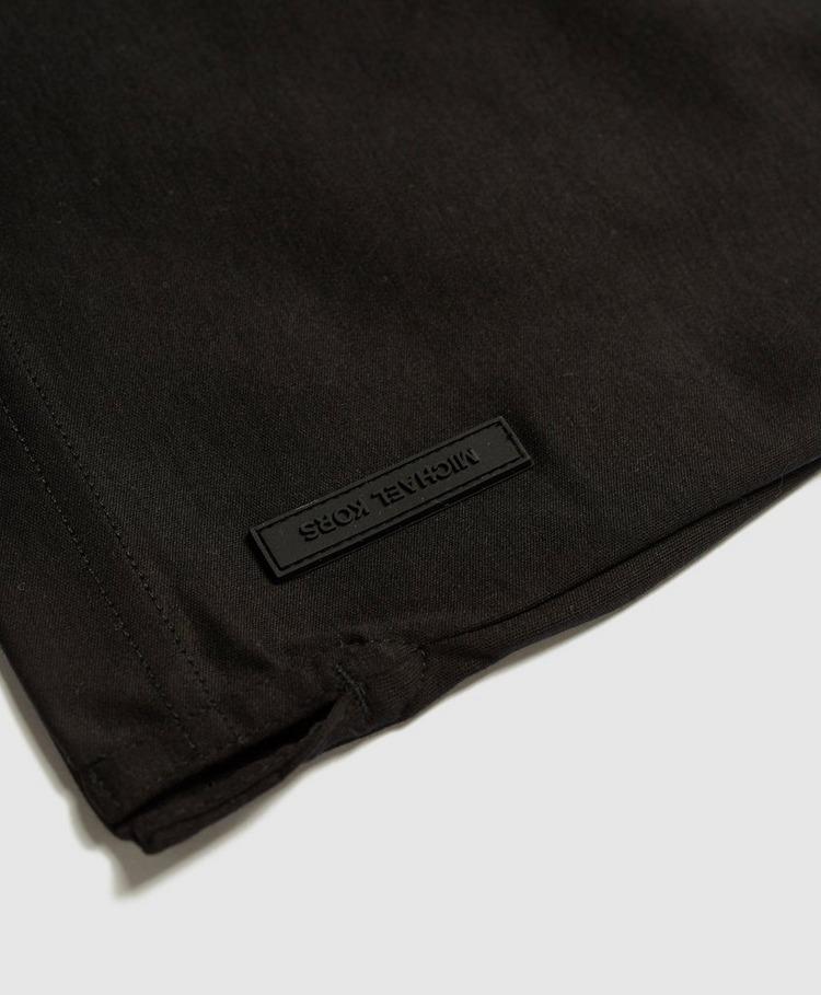 Michael Kors Logo Tape Short Sleeve Polo Shirt