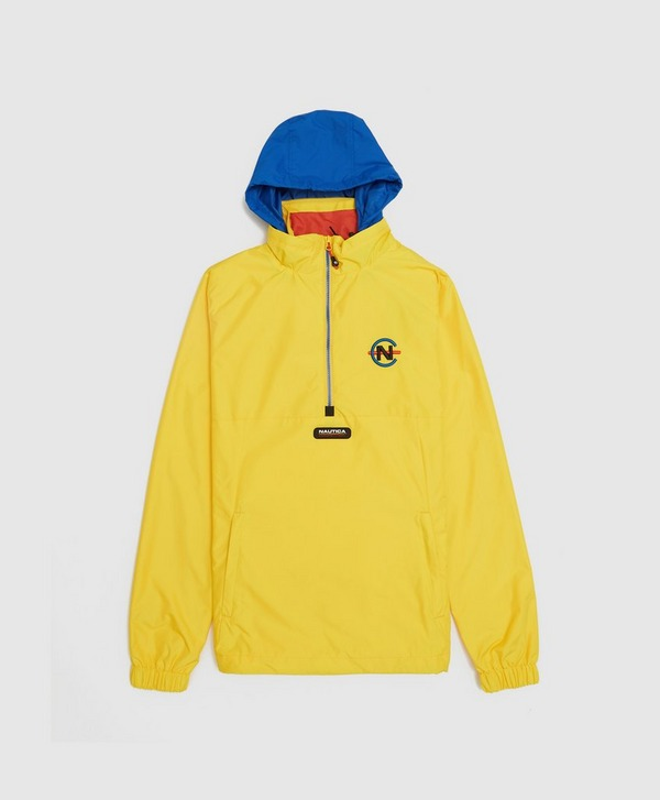 Nautica Competition Salvor Half Zip Windbreaker Jacket