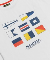 Nautica Competition Henry Flag Short Sleeve T-Shirt