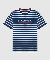 Nautica Competition Alee Stripe Short Sleeve T-Shirt