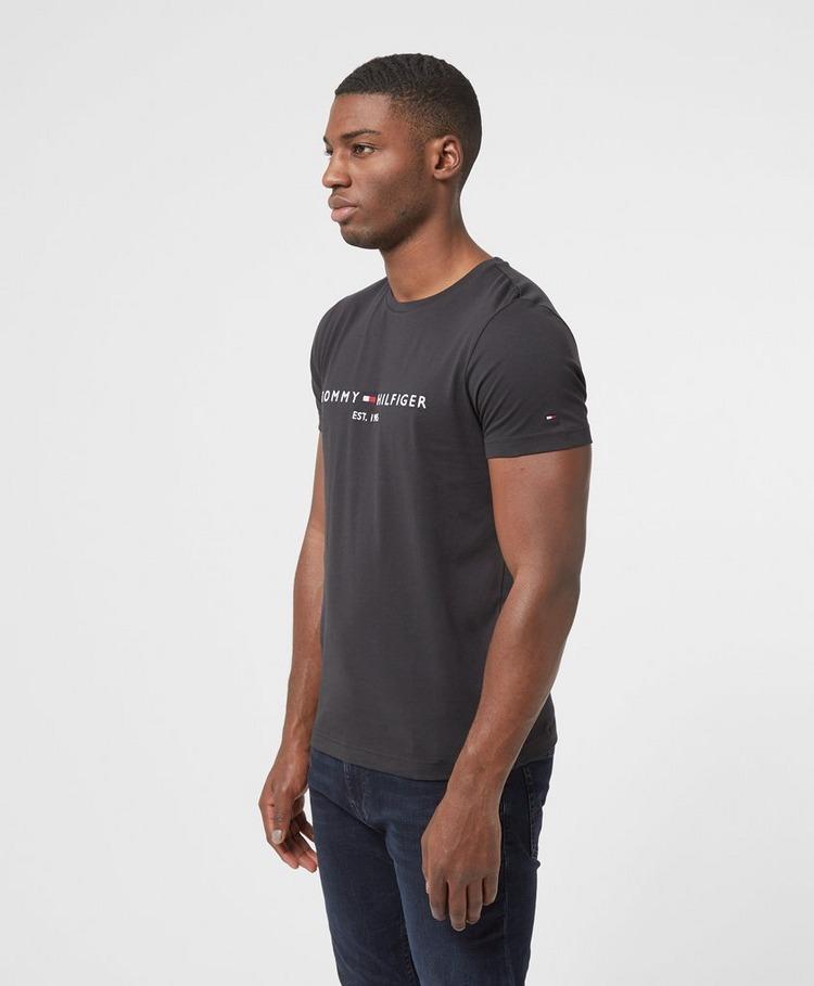 Tommy Hilfiger Embroidered Logo Short Sleeve T-Shirt