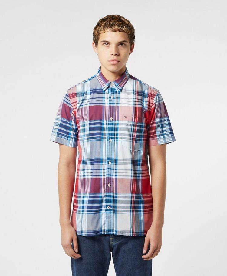 Tommy Hilfiger Madras Short Sleeve Check Shirt