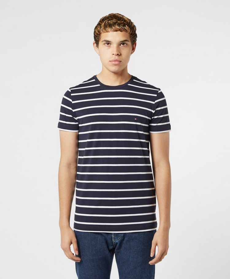 Tommy Hilfiger Fine Stripe Short Sleeve T-Shirt