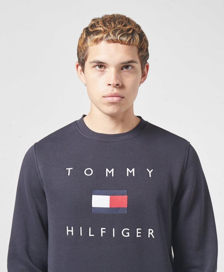 Tommy Hilfiger Flag Crew Sweatshirt