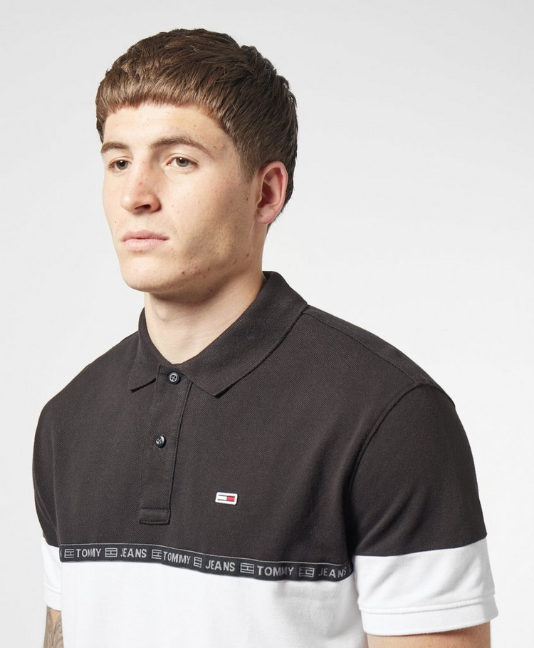 Tommy Jeans Tape Short Sleeve Polo Shirt