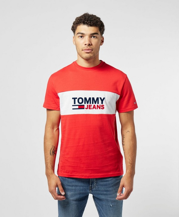 Tommy Jeans Band Logo Short Sleeve T-Shirt