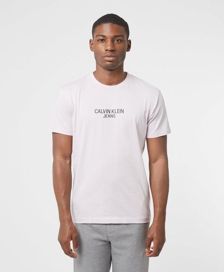 Calvin Klein Jeans Central Institutional Short Sleeve T-Shirt
