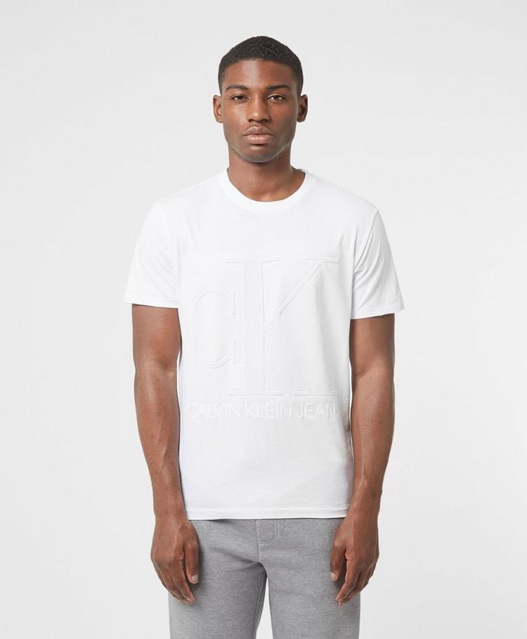 Calvin Klein Jeans Emboss CK Short Sleeve T-Shirt