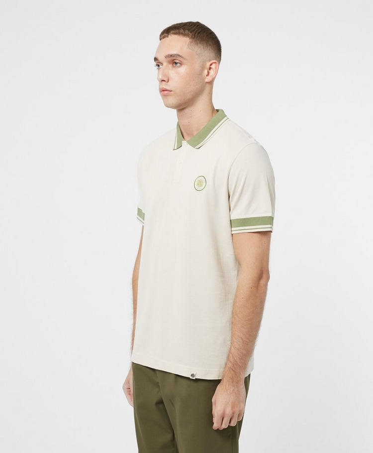 Pretty Green Joey Tipped Short Sleeve Polo Shirt
