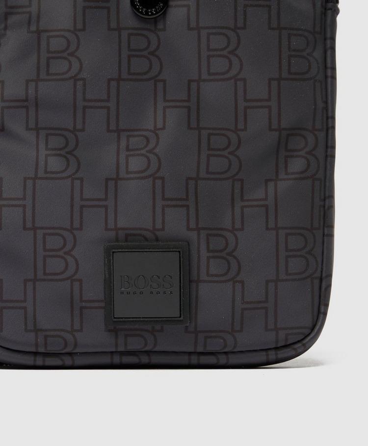 BOSS Repeat Logo Cross Body Bag