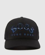 BOSS Curved Logo Cap