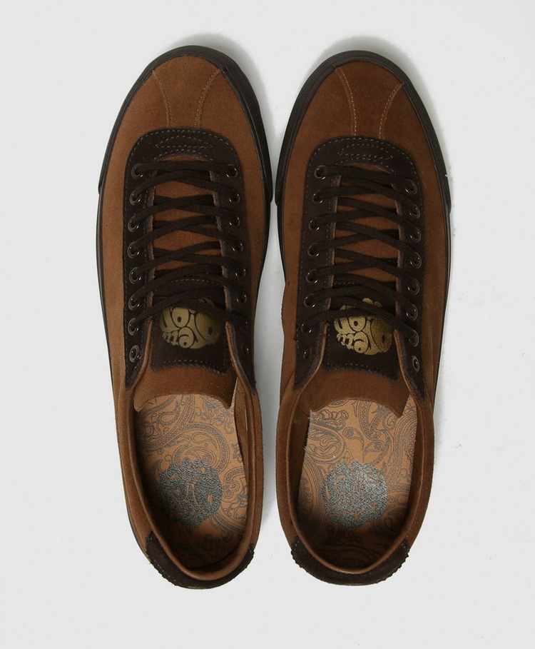 Pretty Green Suede Sneaker