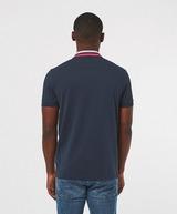 BOSS Paddy Stripe Collar Short Sleeve Polo Shirt