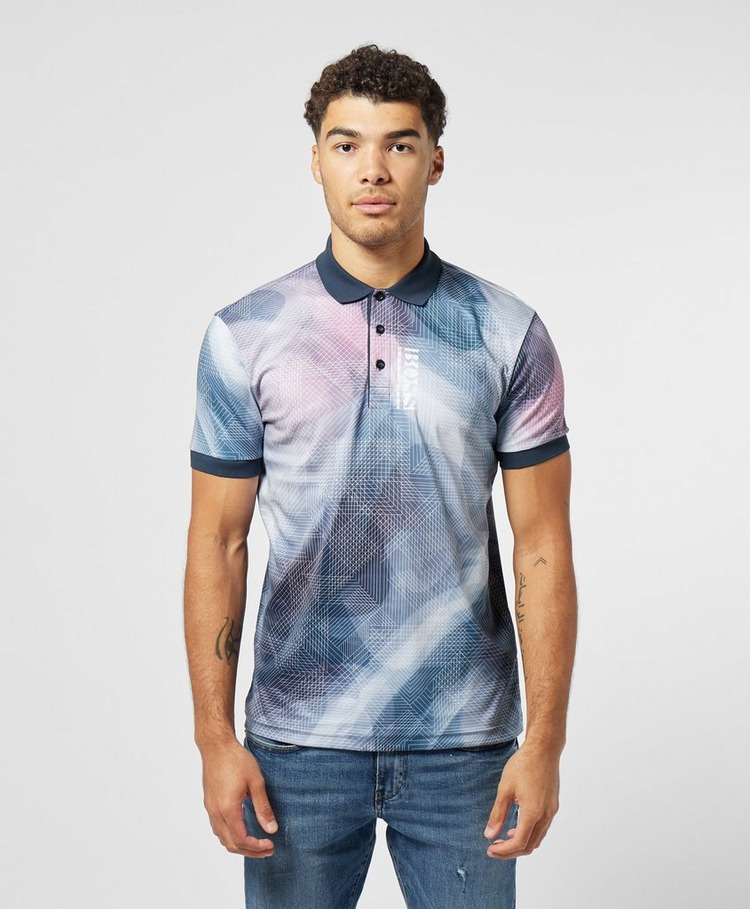 BOSS Paddy 6 Gradient Short Sleeve Polo Shirt