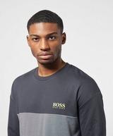 BOSS Colour Block Crew Sweatshirt