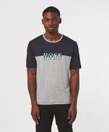 BOSS Poly Logo Short Sleeve T-Shirt