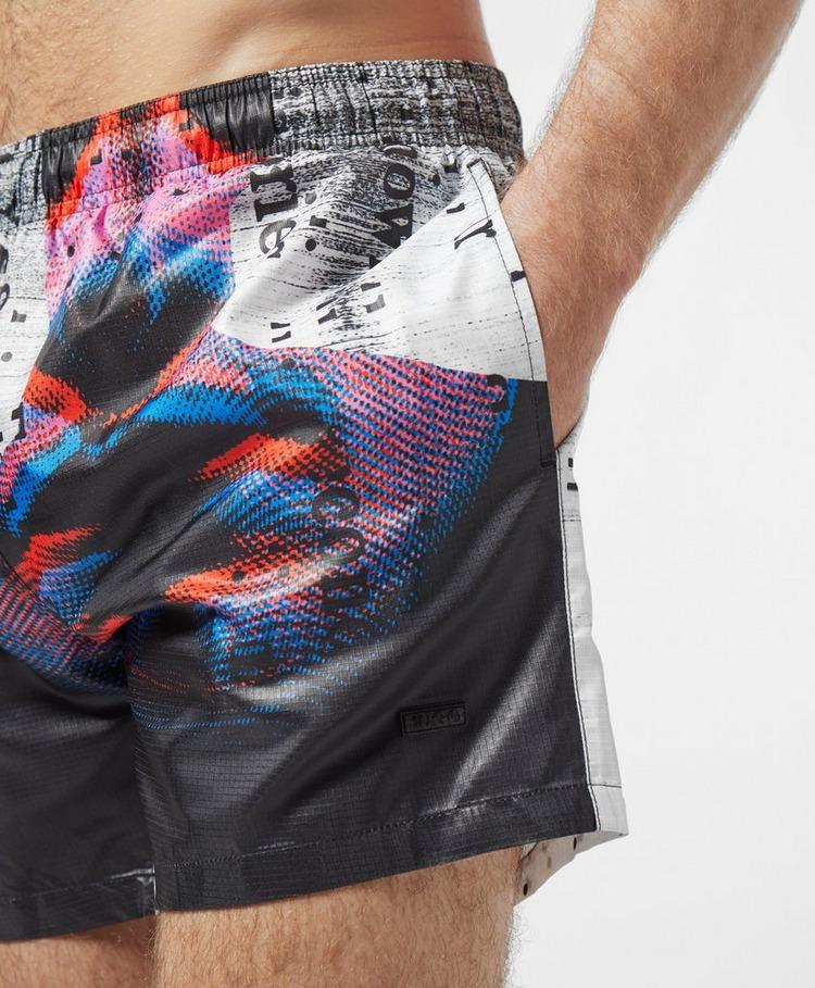 HUGO Djerba Print Swim Shorts