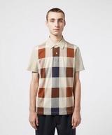 Aquascutum Large Club CheckShort Sleeve Polo Shirt