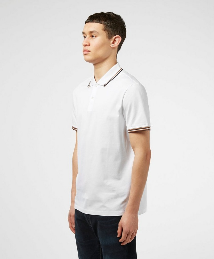 Aquascutum Tipped Collar Short Sleeve Polo Shirt
