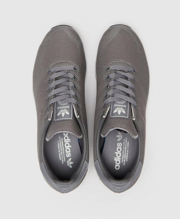 Grey adidas Originals LA Trainer Woven   scotts Menswear