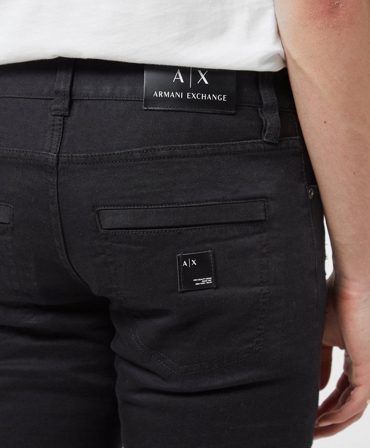 Armani Exchange J27 Biker Skinny Jeans