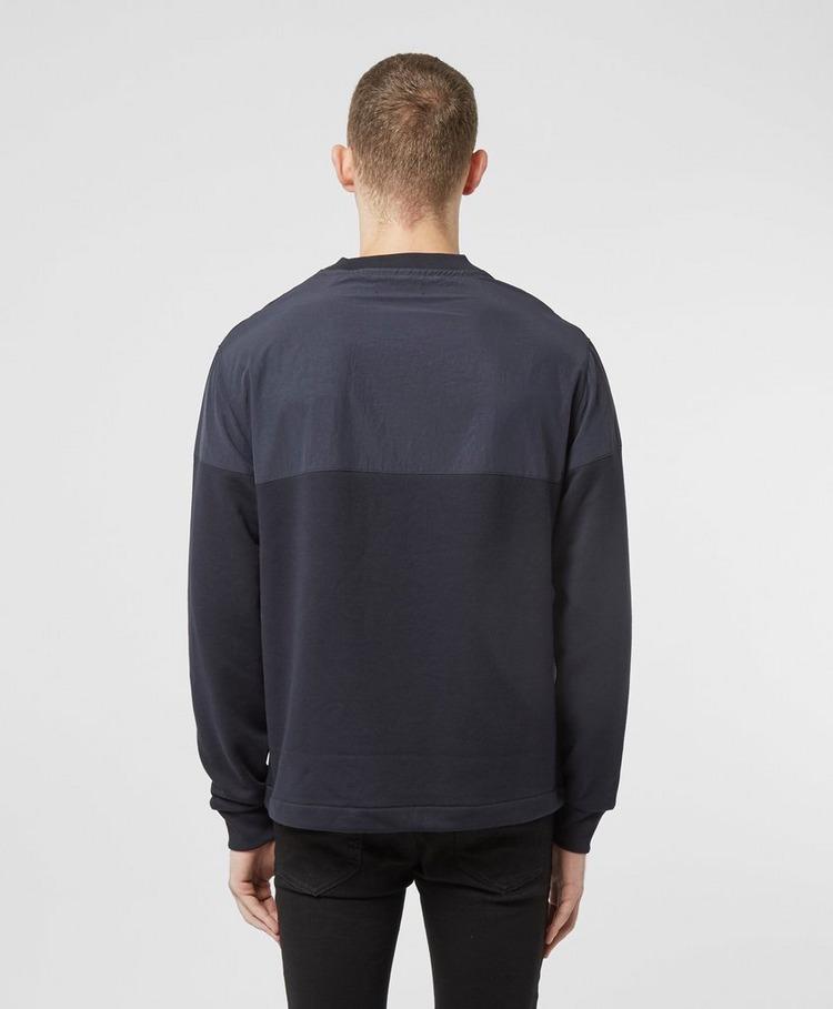 Fred Perry Woven Panel Sweatshirt