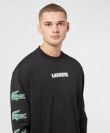 Lacoste Multi Croc Long Sleeve T-Shirt
