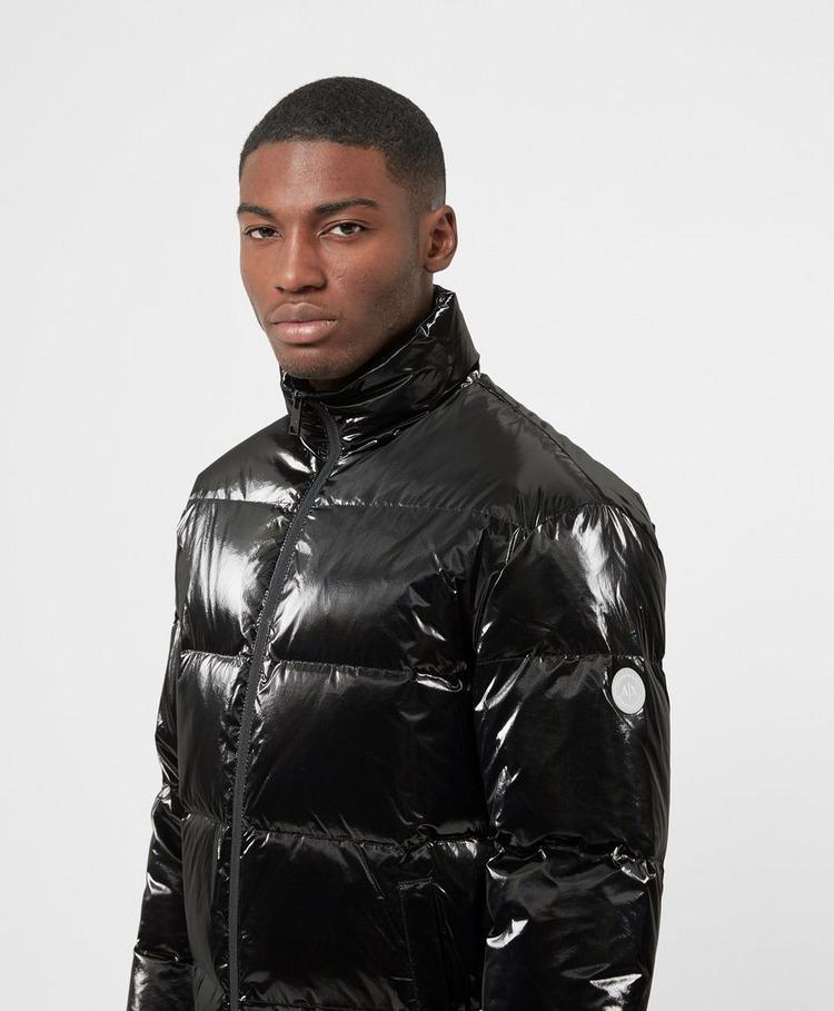 Armani Exchange Shiny Baffle Padded Jacket