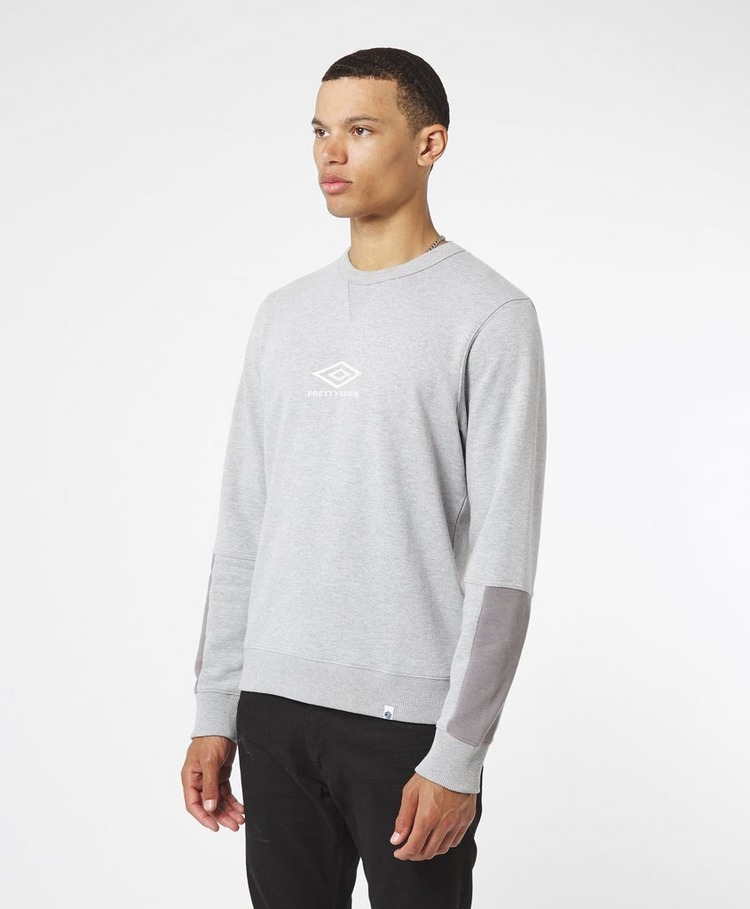 Pretty Green x Umbro Central Logo Sweatshirt - Online Exclusive