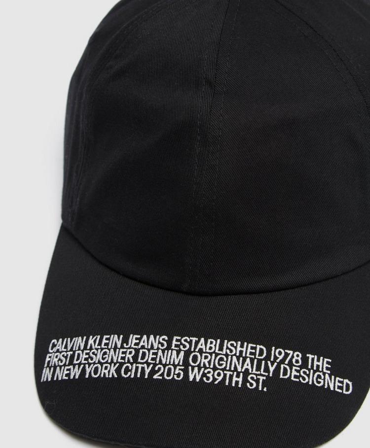 Calvin Klein Jeans Peak Logo Cap