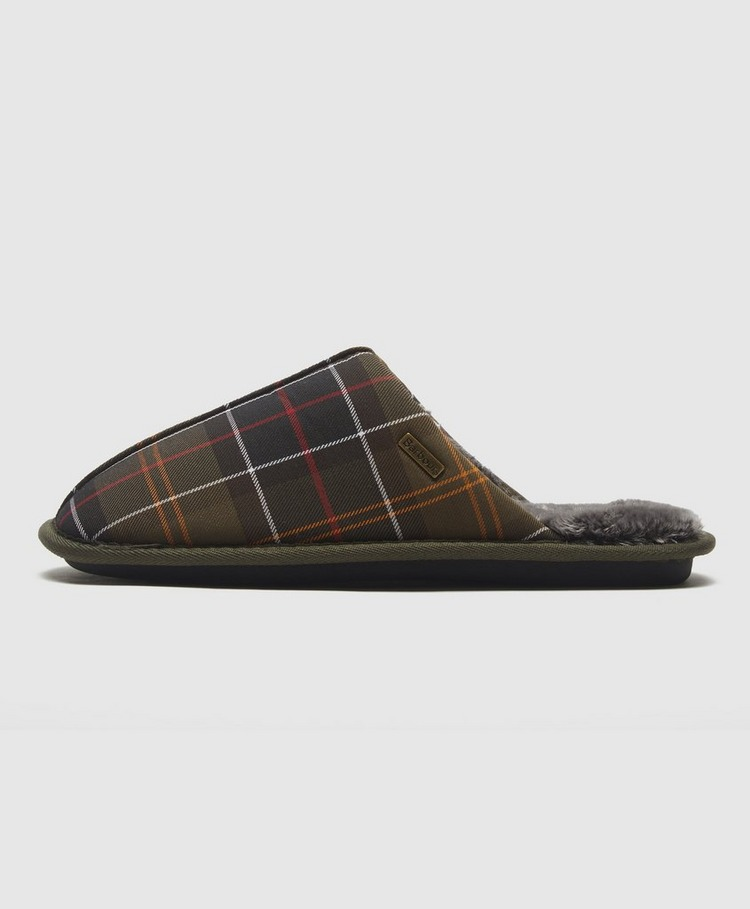 Barbour Young Tartan Slippers
