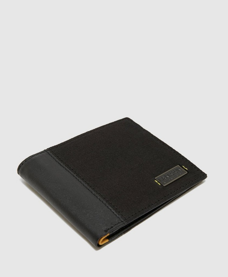 Barbour International Wax Leather Wallet
