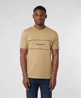 Fred Perry Embroidered Panel Short Sleeve T-Shirt