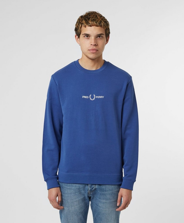Fred Perry Central Logo Sweatshirt