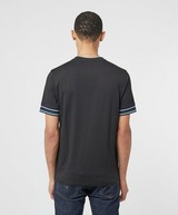 Fred Perry Stripe Cuff Short Sleeve T-Shirt