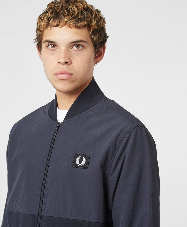 Fred Perry Woven Panel Bomber Track Top