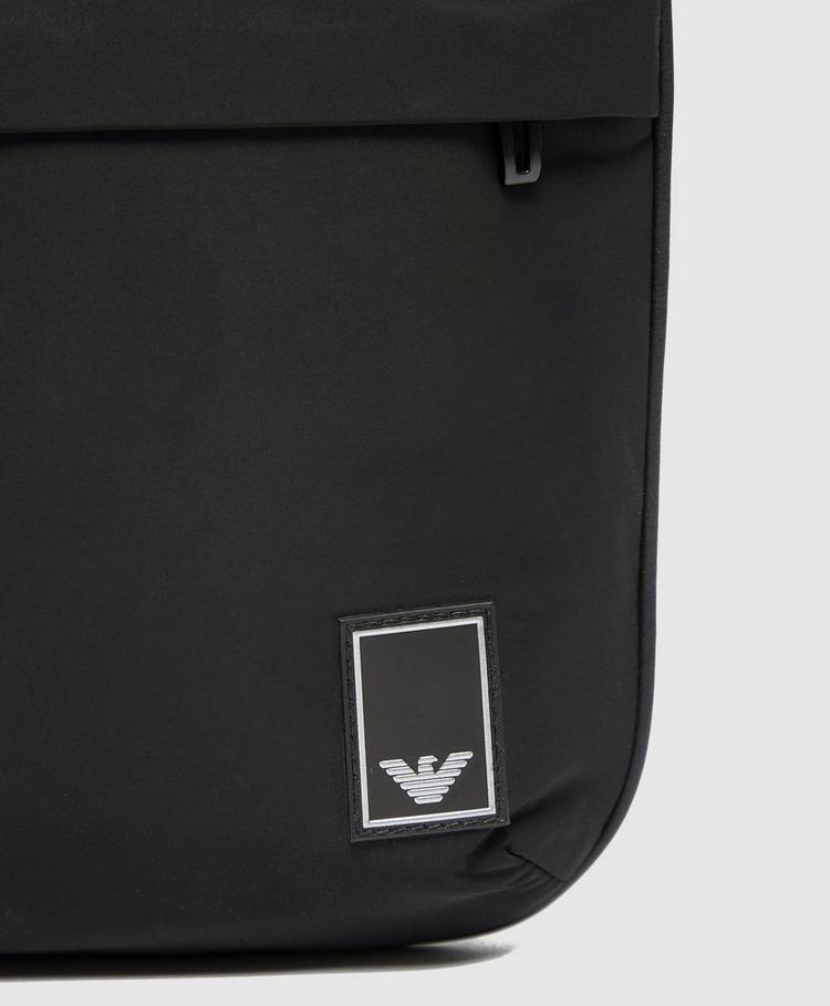 Emporio Armani Patch Logo Cross Body Bag