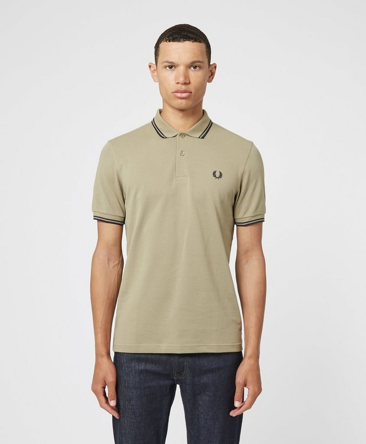 Fred Perry Twin Tipped Short Sleeve Polo Shirt Men's