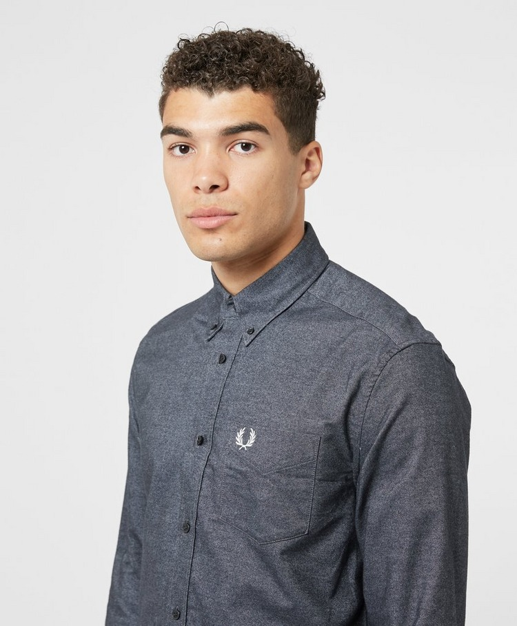 Fred Perry Brushed Oxford Long Sleeve Shirt