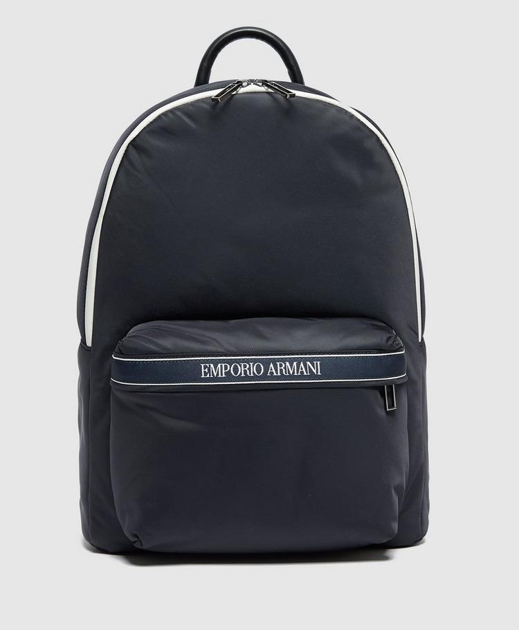 Emporio Armani Tape Logo Backpack