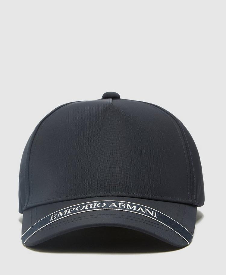 Emporio Armani Peak Logo Cap