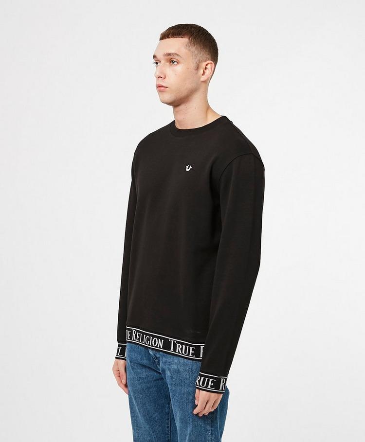 True Religion Tape Cuffed Sweatshirt