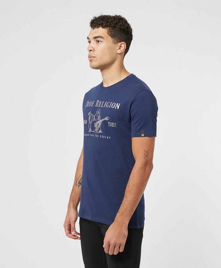 True Religion Front Buddha Short Sleeve T-Shirt